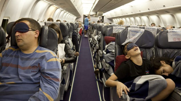 What s the Best Way to Sleep on a Flight?