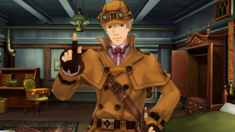 Illustration for article titled In Ace Attorney, Sherlock Holmes is a Crappy Detective