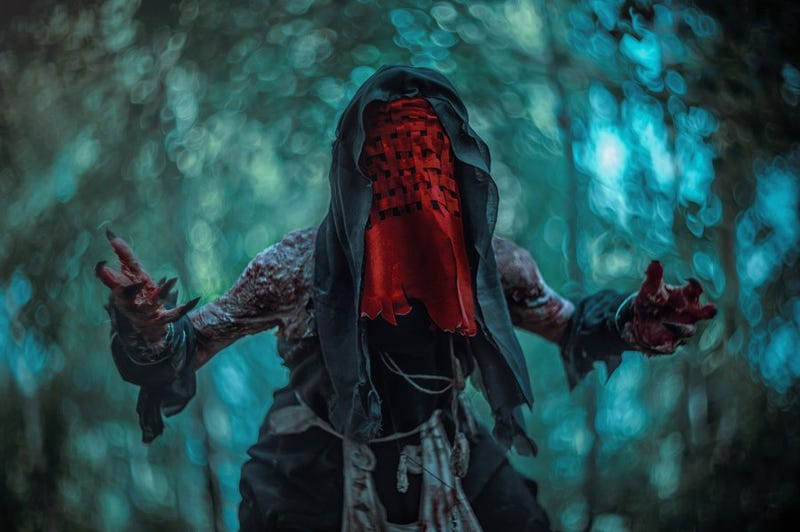 Illustration for article titled Some Pretty Gross Witcher 3 Cosplay