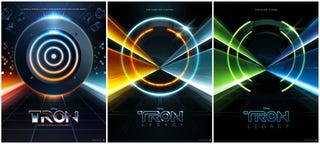 Illustration for article titled Win a Set of Signalnoise's Beautiful (Unofficial) Tron Legacy Posters