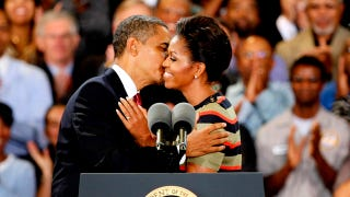 Illustration for article titled Obama Tells Guys To 'Marry Up,' Gushes About How 'Cute' Michelle Is