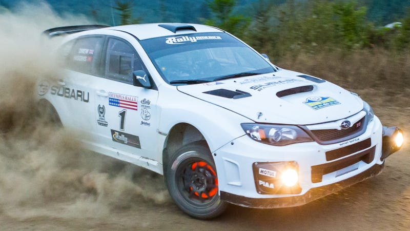 Illustration for article titled 2014 Rally America National Championship Schedule Released