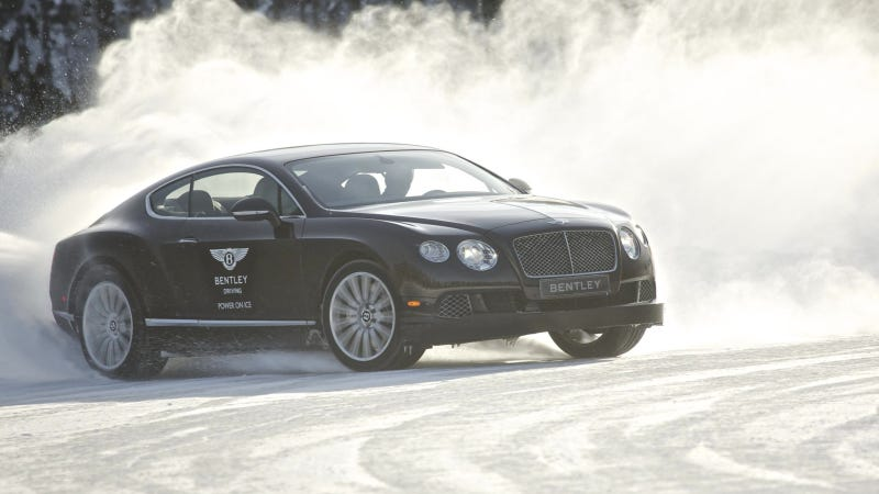 Illustration for article titled Bentley's Arctic Driving School Is The Ultimate Rich Dude Vacation