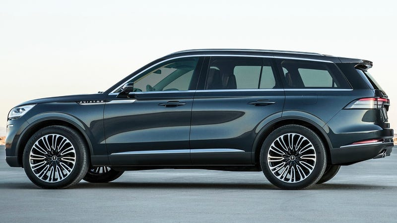 The Lincoln Aviator Looks Surprisingly Good For A Three ...