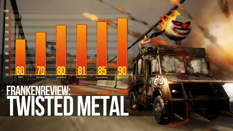 Illustration for article titled Twisted Metal Sets Game Critics' Skulls Aflame