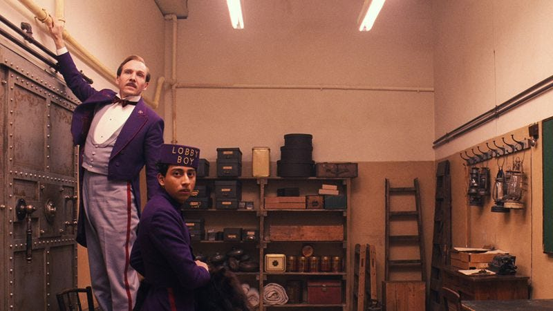 Image result for wes anderson grand budapest hotel