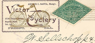 Illustration for article titled How Cyclists on Fixies Saved California's Mail Service 120 Years Ago