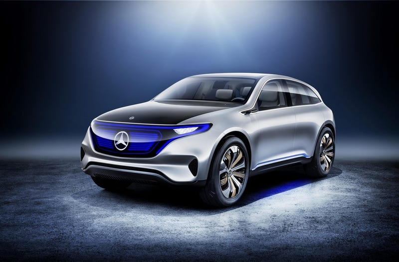Illustration for article titled Thoughts on the Mercedes-Benz Generation EQ Concept?