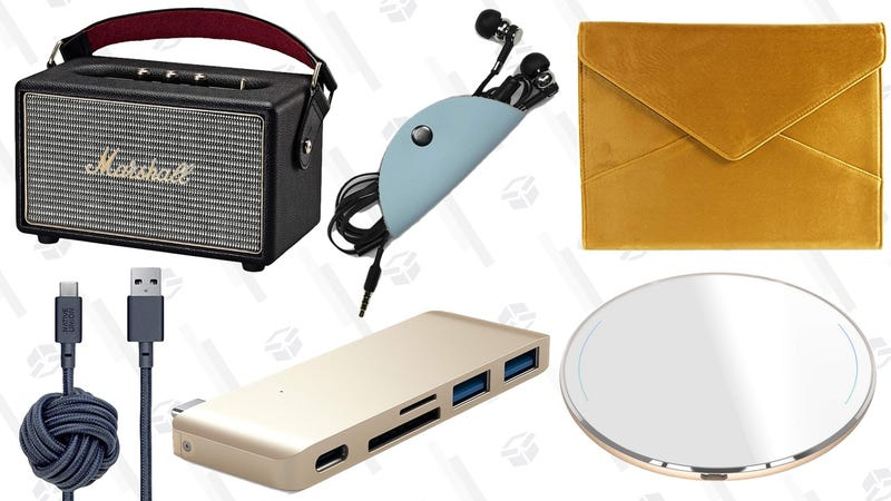 Illustration for article titled The Tech Accessories That You'll Actually Want to Keep Out on Display