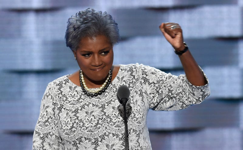 Donna Brazile at the Democratic National Convention in Philadelphia on July 26, 2016SAUL LOEB/AFP/Getty Images