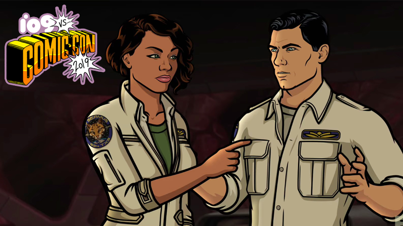 Archer and Lana will always bicker, regardless of what zany scenario they're in.