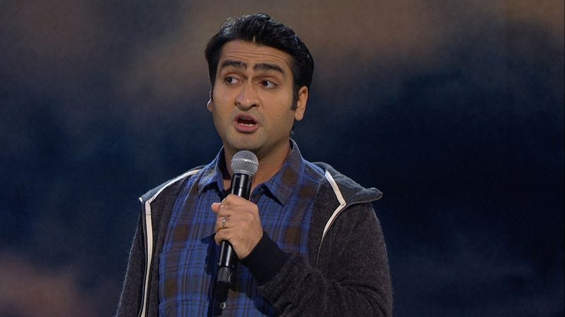 Illustration for article titled Actor and comedian Kumail Nanjiani answers our 11 questions