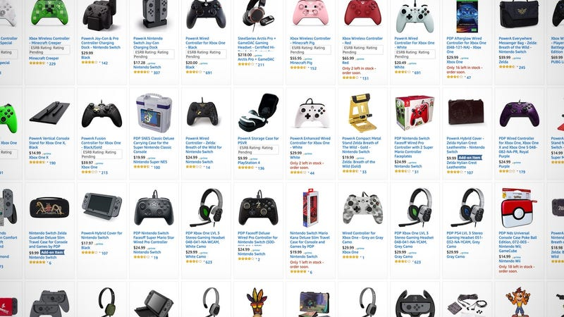 $5 Digital Game Credit With Select Accessory Purchase | Amazon