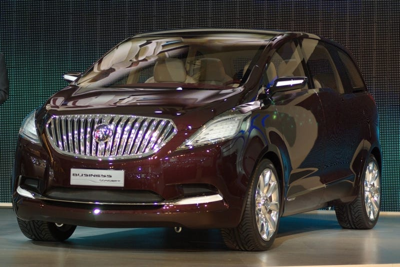 Illustration for article titled Buick Business Concept: A Ballerific Luxo-Minivan For China