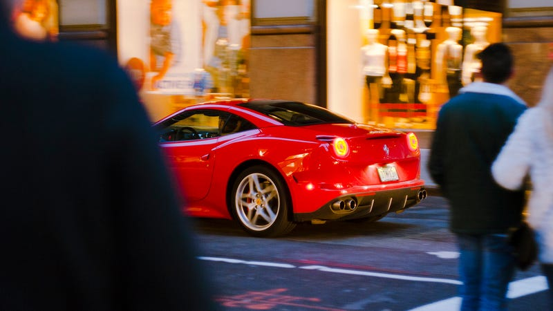 Ferrari is planning a second entry level gt car report for Nomenclature icpe garage automobile