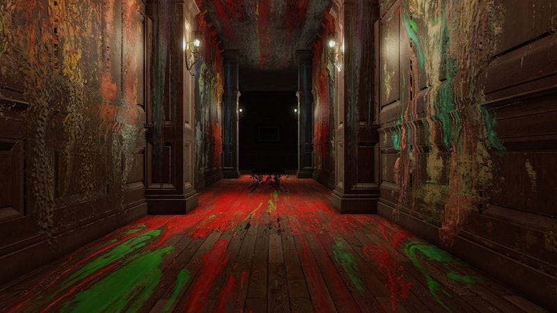Illustration for article titled Layers Of Fear aims for arty horror, but its strength is simple scares
