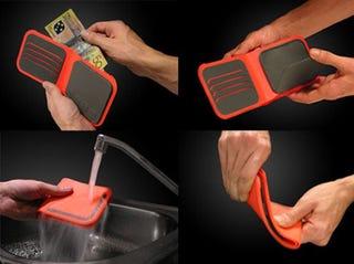 Illustration for article titled Dosh Waterproof Wallet Keeps Keys and SIM Cards Safe