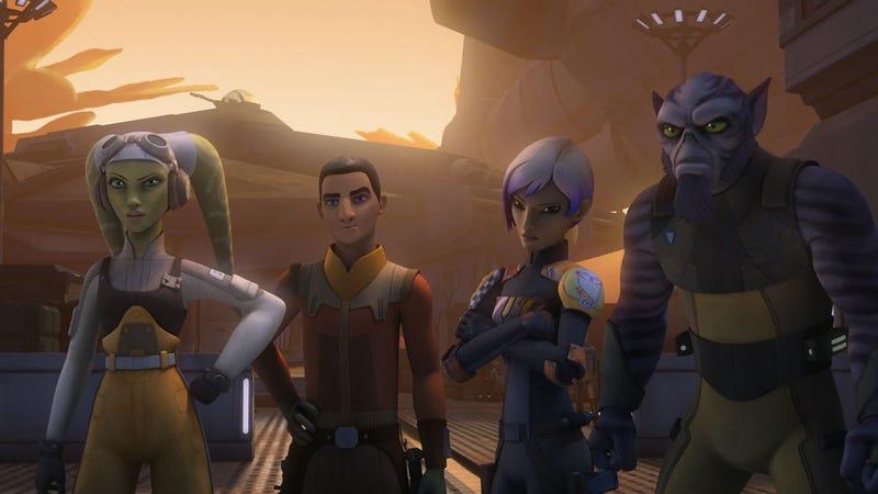 Star Wars: Rebels Showrunner Talks Thrawn, Ezra, and the Series' Endgame