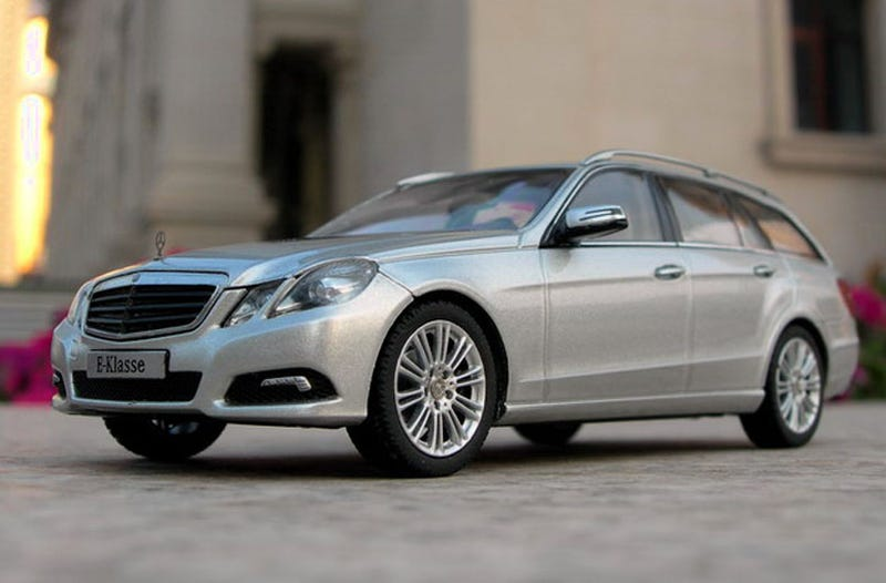 Illustration for article titled New Mercedes E-Class Wagon Scale Model?