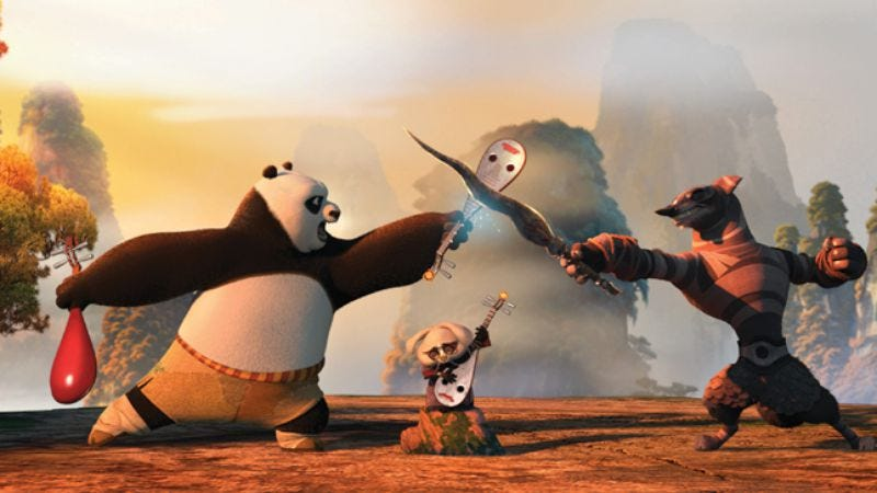 Illustration for article titled Kung Fu Panda 2
