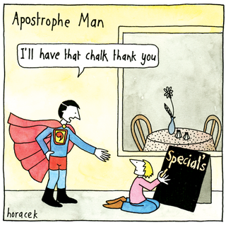 Illustration for article titled Those Goddamn Apostrophes Go Somewhere, Amirite?