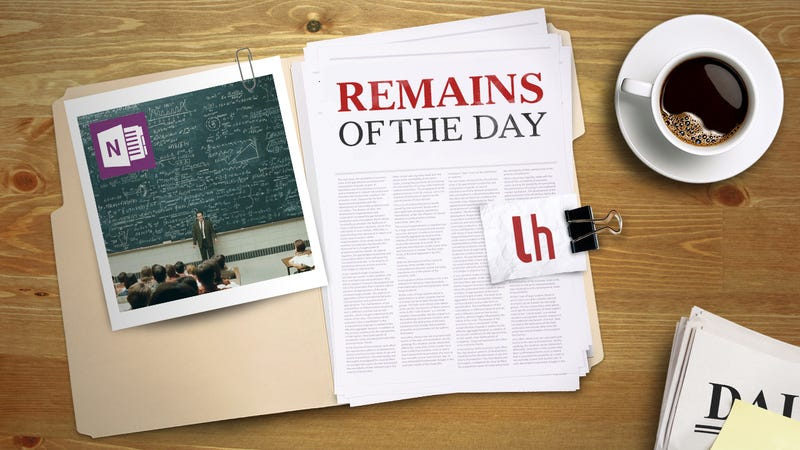Illustration for article titled Remains of the Day: OneNote Can Help You With Your Math Homework