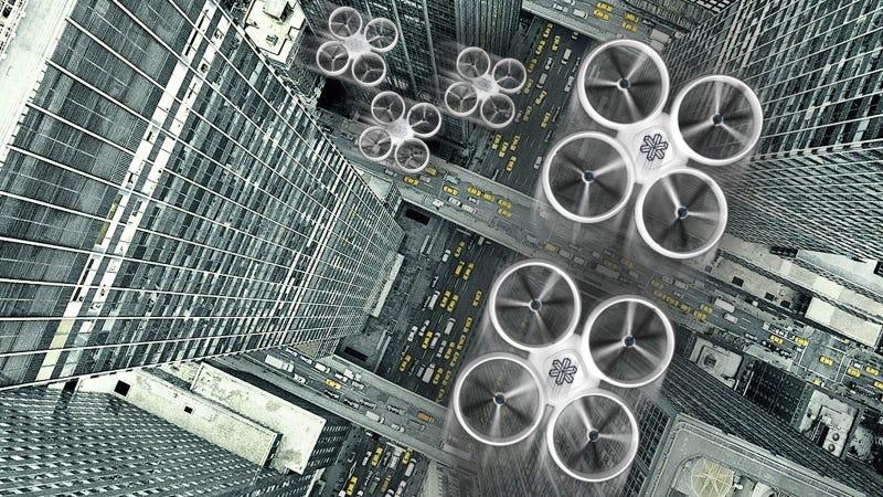 Illustration for article titled Estos son los drones que sustituirán a los mensajeros