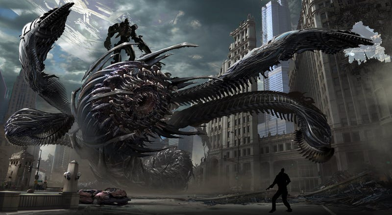 Illustration for article titled Amazing Concept Art That Makes You Wish Aliens Would Come and Kill Us All