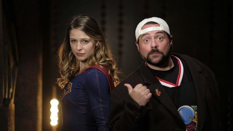 Melissa Benoit and Kevin Smith (Photo: The CW)