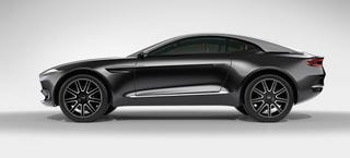 Illustration for article titled The Aston Martin DBX Is An SUV, Is A GT, Is An SUV, Is A GT...