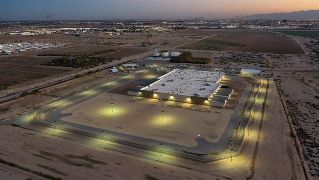 An Artist Used a Drone to Photograph Rarely Seen ICE Detention Centers