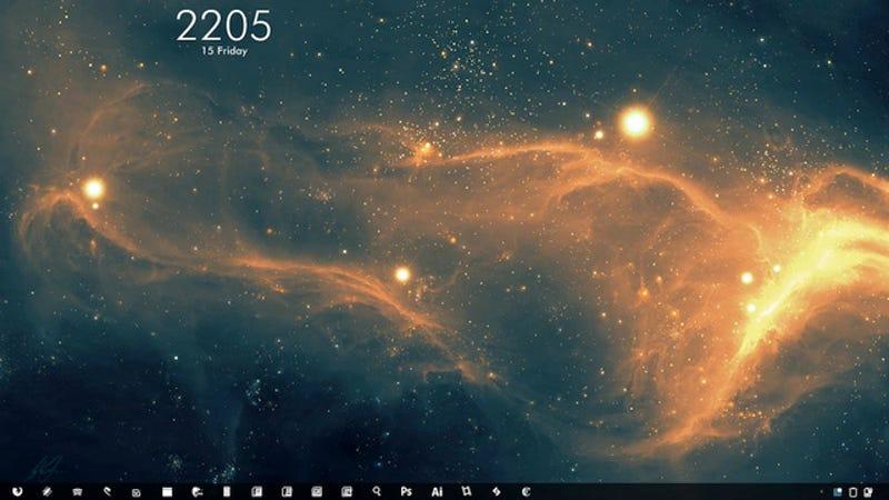 Illustration for article titled The Nebula Desktop