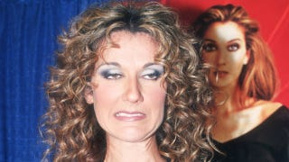 Illustration for article titled Resurrecting Ridiculous Pictures Of Celine Dion