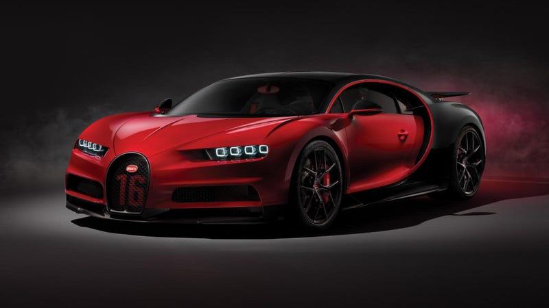 The Bugatti Chiron Sport.