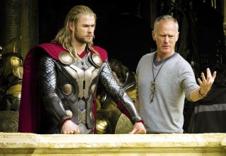 Illustration for article titled The Thor 2 director is unhappy with its post-credits scene