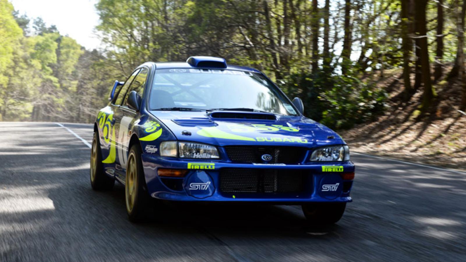 Rally Legend Colin McRae\'s 1997 Subaru Impreza WRC Test Car Sells ...