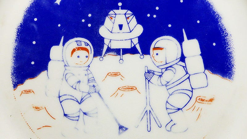 Illustration for article titled The Cutest Way To Celebrate The Moon-Landing