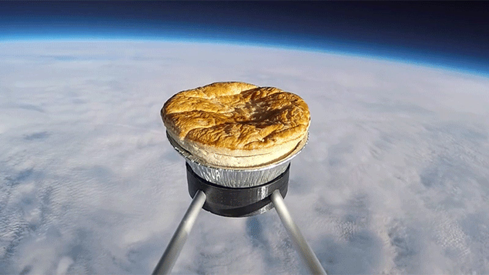 Brits Attempt to Send Meat Pie to Space Because Who on Earth Wants to Eat Meat Pie