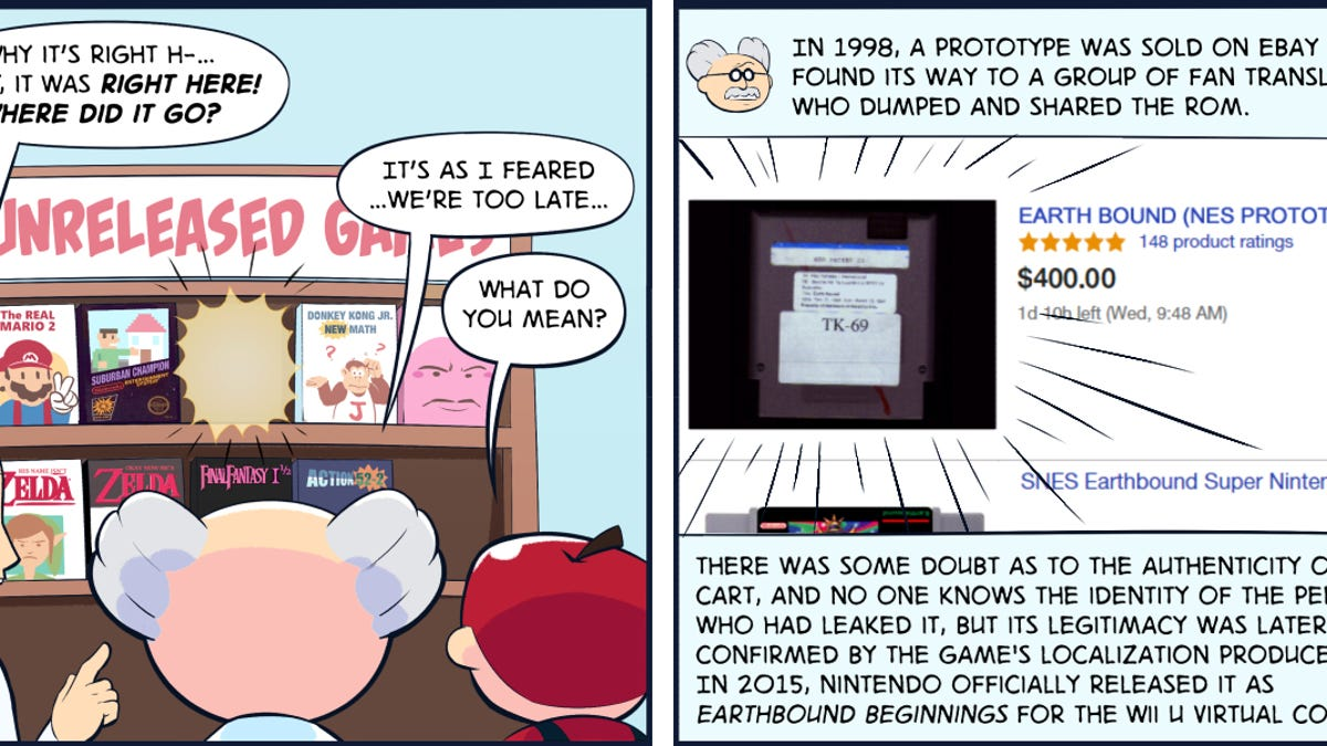Comic History: Why The First EarthBound Wasn't Released