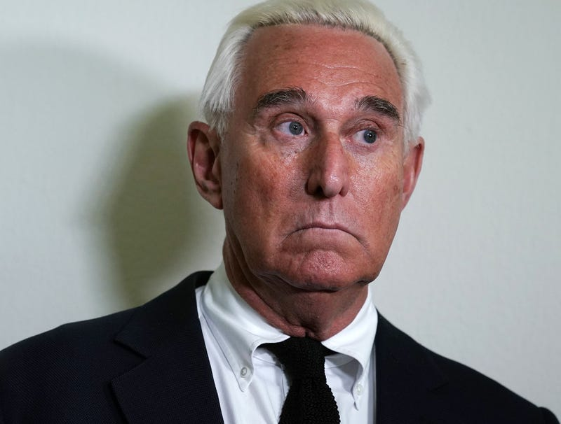 Illustration for article titled Judge Restricts Roger Stone's Travel Between Fox News, InfoWars Studios While Released On Bond