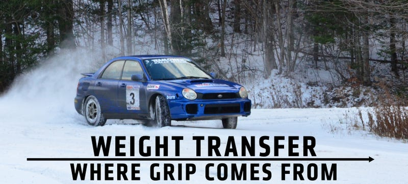 Illustration for article titled How To Use Weight Transfer To Keep Your Car Out Of A Ditch This Winter