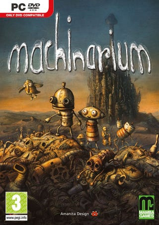 Illustration for article titled Machinarium Extends Its Reach To Retail Shelves