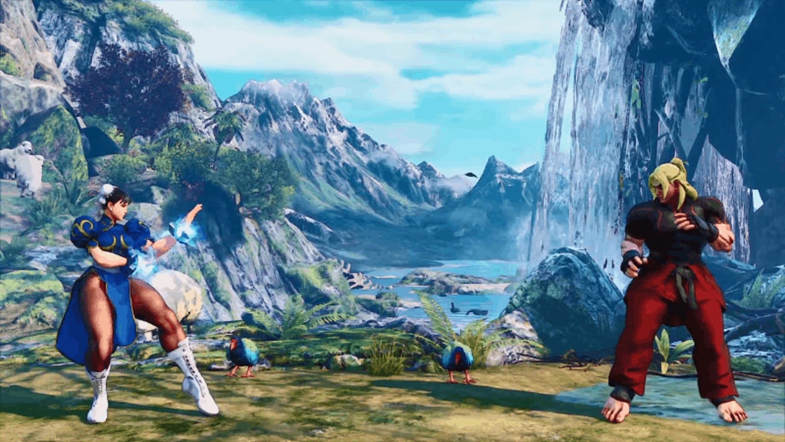 New Street Fighter V Glitch Lets Chun-Li Float Off Into Space