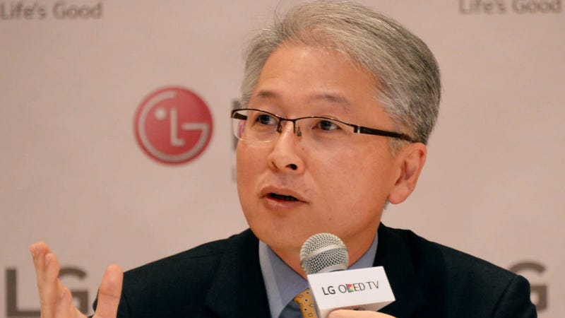 Illustration for article titled LG Thinks the Guy Who Runs Its Stellar TV Business Can Save Its Phones