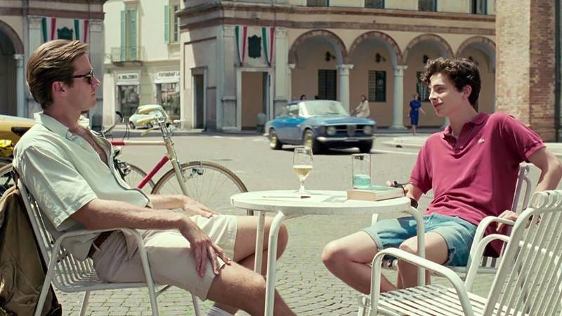 A scene from 'Call Me By Your Name'
