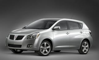 Illustration for article titled Pontiac Vibe, Solstice Are Dead, Won't Live On As Chevys