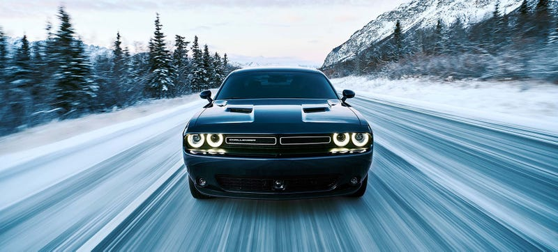 Illustration for article titled The Dodge Challenger Gets AWD To Beat The Crap Out Of Winter