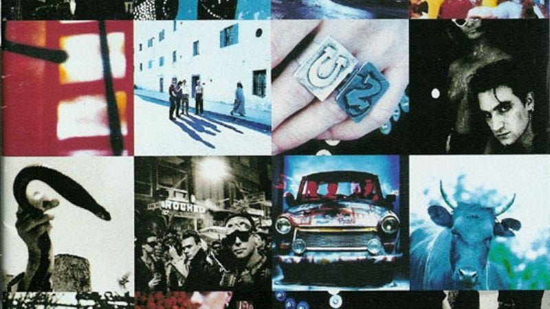 Illustration for article titled U2 will release Achtung Baby box set
