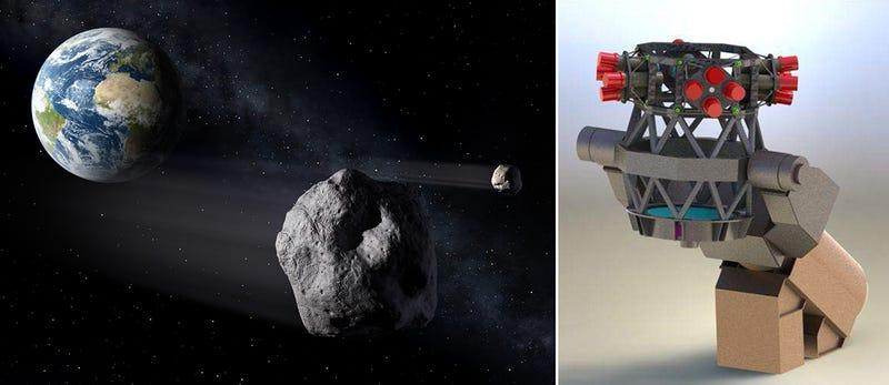 Illustration for article titled Un telescopio inspirado en ojos de insecto nos protegerá de meteoritos