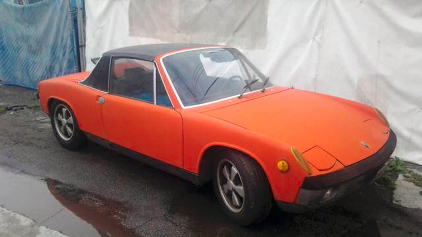 for 79 000 is this pulled from storage 1970 porsche 914. Black Bedroom Furniture Sets. Home Design Ideas